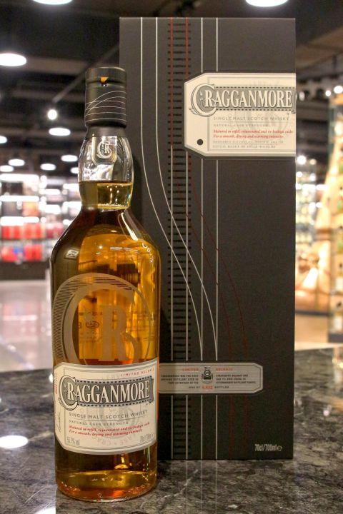 (現貨) Cragganmore Cask Strength Limited Release 2016 克拉格摩爾 限定版原酒 (700ml 55.7%)