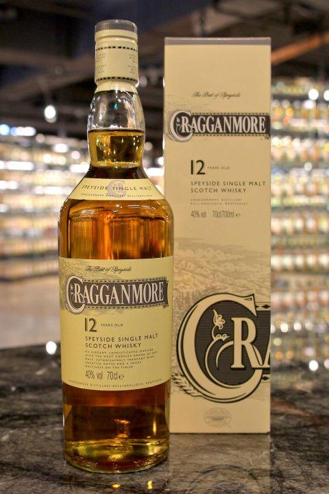 (現貨) Cragganmore 12 Years Single Malt Whisky 克拉格摩爾 12年 單一麥芽威士忌 (700ml 40%)