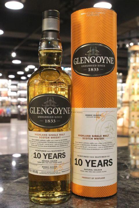 (現貨) Glengoyne 10 Years Single Malt Whisky 格蘭哥尼 10年 單一麥芽威士忌 (700ml 40%)