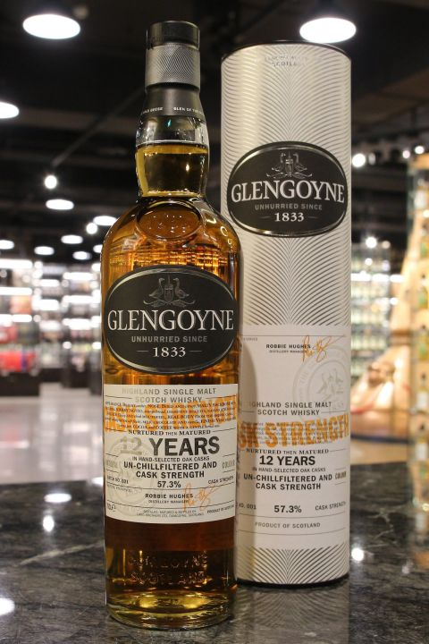 (現貨) Glengoyne 12 Years Cask Strength Batch 001 格蘭哥尼 12年 限量原酒 (700ml 57.3%)