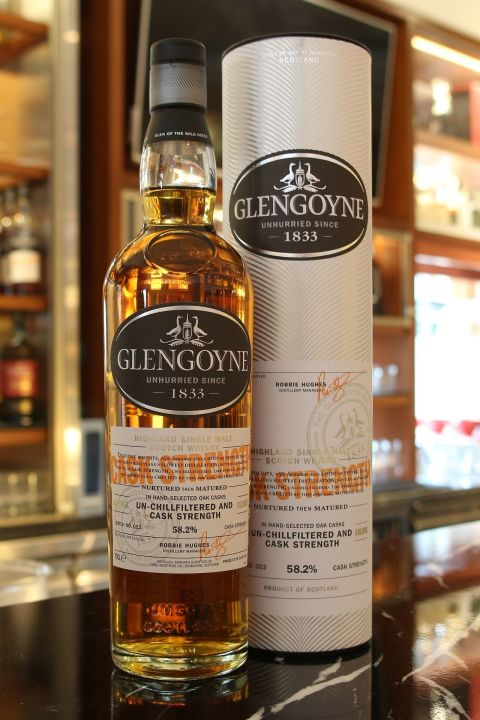 (現貨) Glengoyne Cask Strength Batch No.003 格蘭哥尼 限量原酒 第三版 (700ml 58.2%)