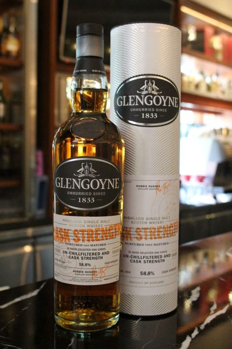 (現貨) Glengoyne Cask Strength Batch No.004 格蘭哥尼 限量原酒 第四版 (700ml 58.8%)