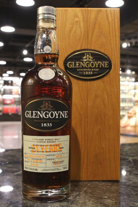 (現貨) Glengoyne 1991 24 Years Single Cask 格蘭哥尼 24年 初次雪莉 單桶 (700ml 54.1%)