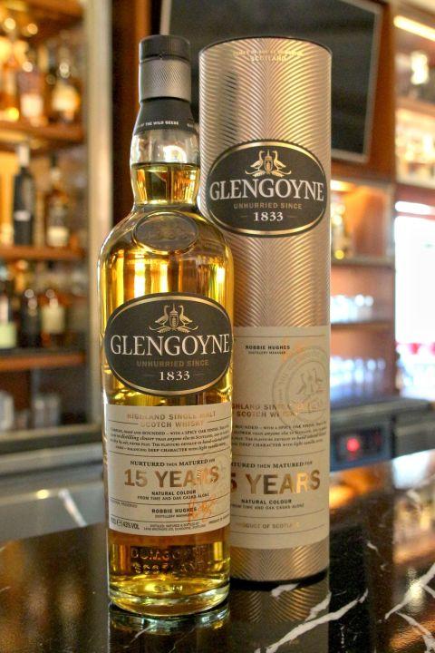 Glengoyne 15 Years Single Malt Whisky 格蘭哥尼 15年 單一麥芽威士忌 (700ml 43%)