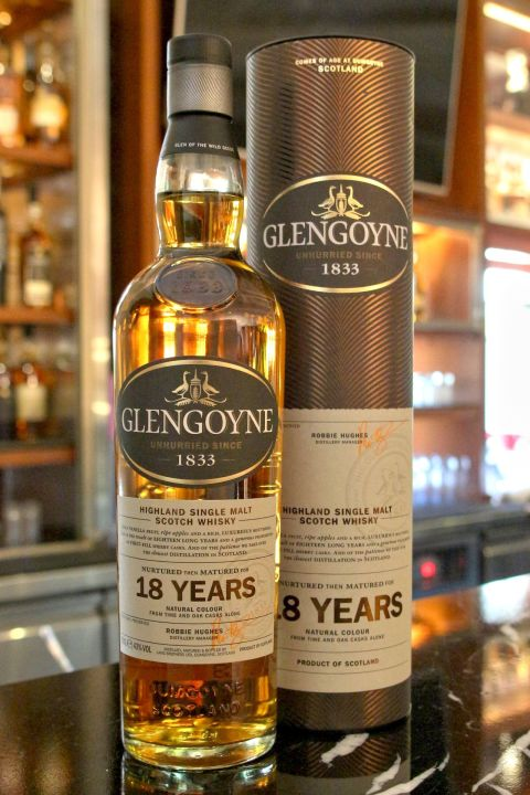 Glengoyne 18 Years Single Malt Whisky 格蘭哥尼 18年 單一麥芽威士忌 (700ml 43%)