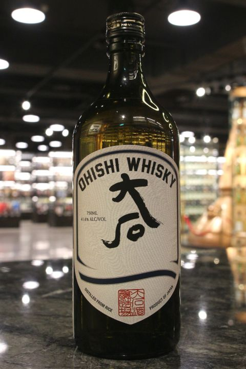 (現貨) Ohishi Japanese Rice Whisky 日本 大石 米威士忌 (750ml 41.6%)