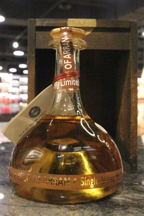 (現貨) Arran 1995 First Production Decanter 愛倫 1995 創廠首批裝瓶限量原酒 (700ml 52.2%)