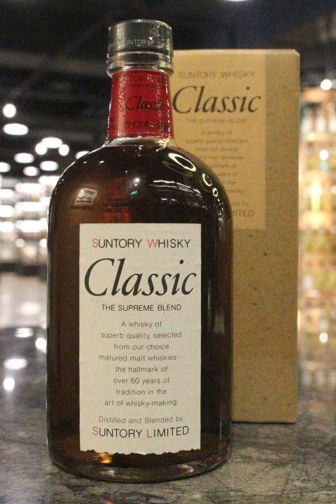 (現貨) Suntory Classic The Supreme Blend 三得利 Class 特級調和威士忌 (700ml 43%)
