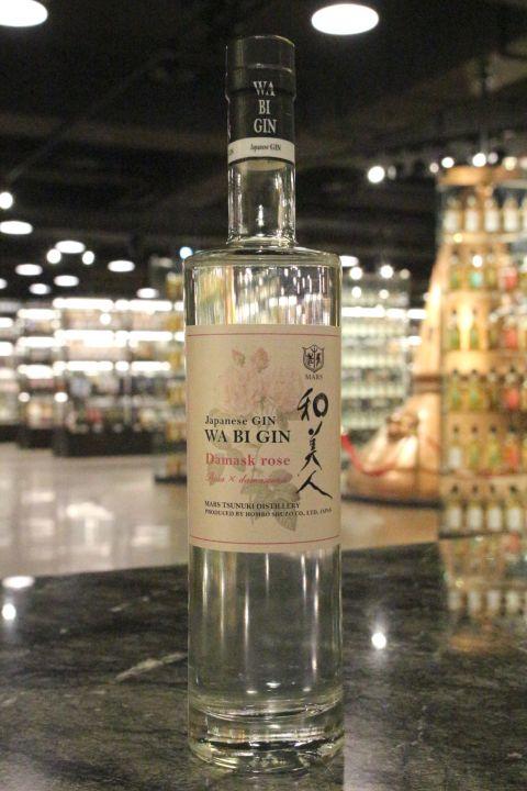 Mars WA BI GIN Damask Rose Japanese Gin 和美人 大馬士革玫瑰琴酒 (700ml 45%)