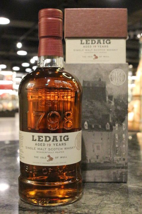 (現貨) Ledaig 1998 19 Years PX Sherry Cask Finish 里爵 19年 PX雪莉桶原酒 (700ml 55.7%)
