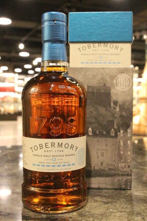(現貨) Tobermory 12 Years Fino Sherry Cask Finish 托本莫瑞 12年 Fino雪莉桶原酒 (700ml 55.1%)