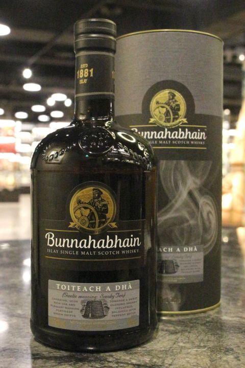 (現貨) Bunnahabhain Toireach A Dha Single Malt Whisky 布納哈本 黑煙 單一麥芽威士忌 (700ml 46.3%)