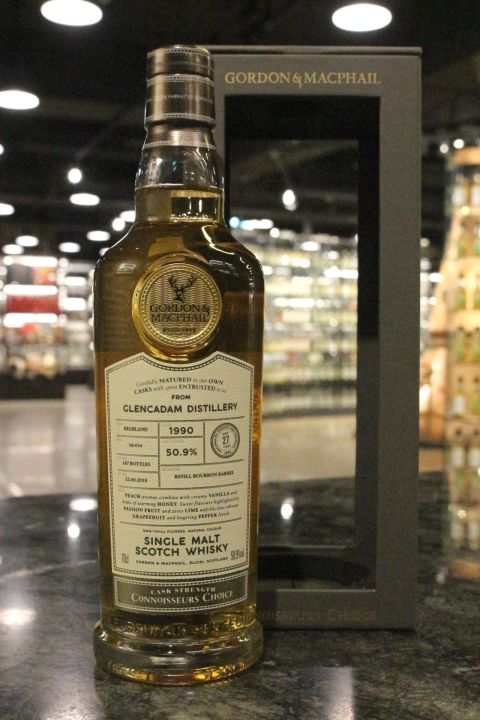 (現貨) G&M - Glencadam 1990 27 Years Bourbon Barrel 格蘭卡登 1990 27年 波本桶 (700ml 50.9%)