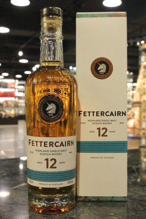 Fettercairn 12 Years Single Malt Whisky 費特肯 12年 單一麥芽威士忌 (700ml 40%)