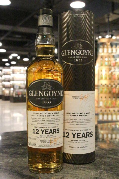 Glengoyne 12 Years Single Malt Whisky 格蘭哥尼 12年 單一純麥威士忌 (700ml 43%)