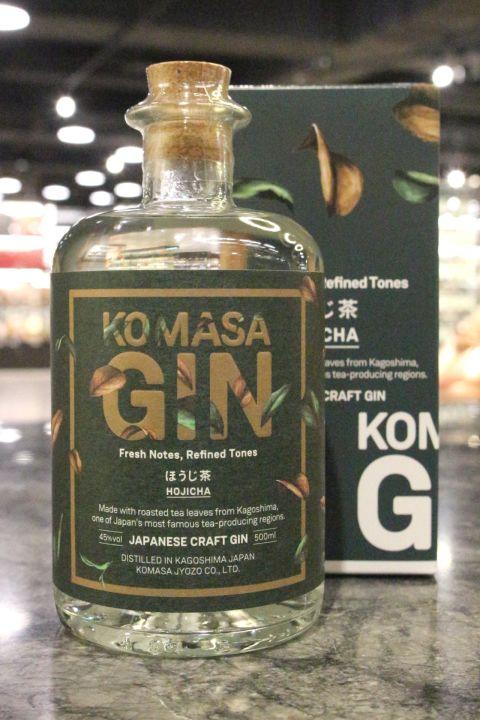 Komasa Hojicha Japanese Craft Gin 小正 鹿兒島焙茶琴酒 (500ml 45%)