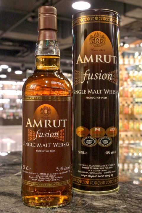 (現貨) Amrut Fusion Finish Single Malt Whisky 雅沐特 融合 單一麥芽威士忌 (750ml 50%)