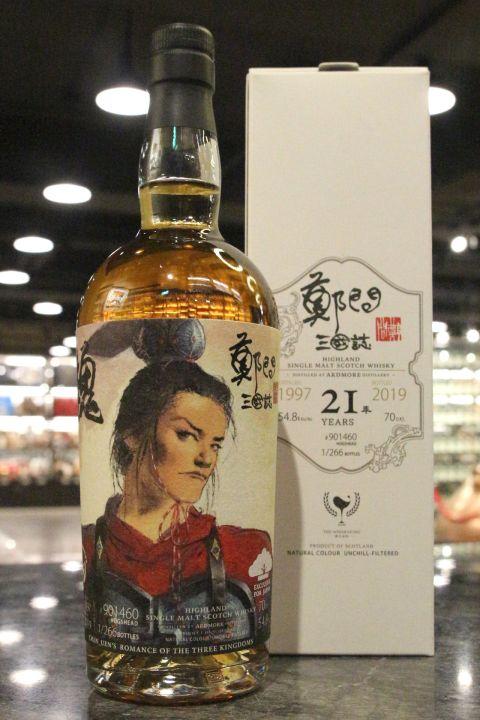 The Whiskyfind - Ardmore 1997 21 Years 威士忌坊 鄭問三國誌 曹丕 (700ml 54.8%)