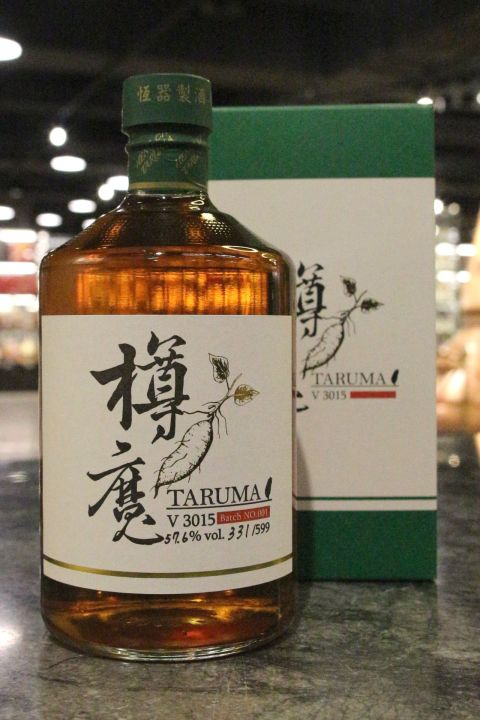 (現貨) Taruma V3015 Sweet Potato Spirit Batch 01 綠樽魔 地瓜蒸餾原酒 (700ml 57.6%)