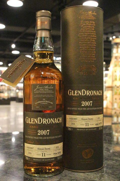 Glendronach 2007 11 Years Oloroso Sherry 格蘭多納 2007 11年 雪莉桶 (700ml 58%)