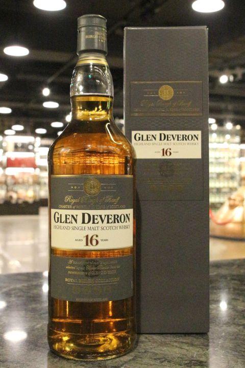 (現貨) Glen Deveron 16 Years Highland Single Malt Scotch Whisky (1000ml 40%)