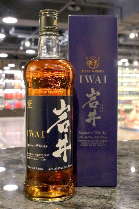 (現貨) Mars Iwai Tradition Bourbon Cask Blended Whisky 岩井 波本桶 (750ml 40%)