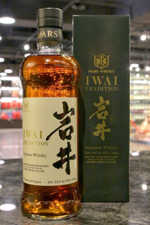 (現貨) Mars Iwai Tradition Sherry Cask Blended Whisky 岩井 雪莉桶 (750ml 40%)