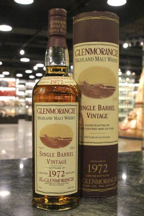 (現貨) GLENMORANGIE 1972 Single Barrel Bottled 1993 格蘭傑 1972 單桶 1993裝瓶 (750ml 46%)