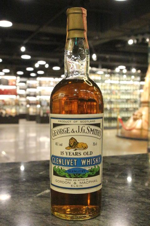 (現貨) Glenlivet 15 Years Gordon & Macphail Bottled 1990s 格蘭利威 15年 G&M (750ml 46%)