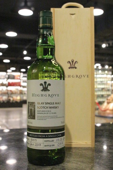 (現貨) LAPHROAIG 2004 12 Years Highgrove Single Cask #3009 拉佛格 2004 12年 單桶 (700ml 46%)