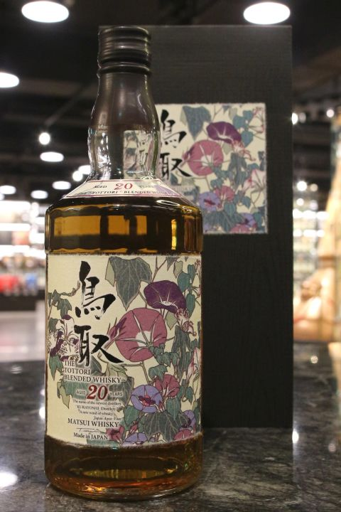 (現貨) The Tottori 20 Years Blended Whisky 鳥取 20年 調和威士忌 (700ml 50%)