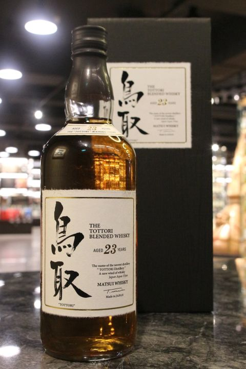 (現貨) The Tottori 23 Years Blended Whisky 鳥取 23年 調和威士忌 (700ml 50%)