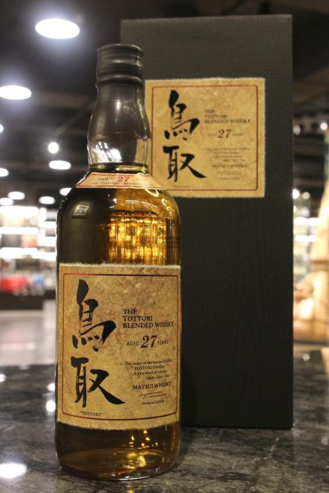 (現貨) The Tottori 27 Years Blended Whisky 鳥取 27年 調和威士忌 (700ml 50%)