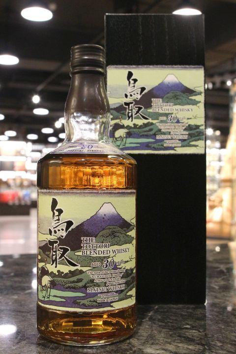 (現貨) The Tottori 30 Years Blended Whisky 鳥取 30年 調和威士忌 木盒限定版 (700ml 46%)
