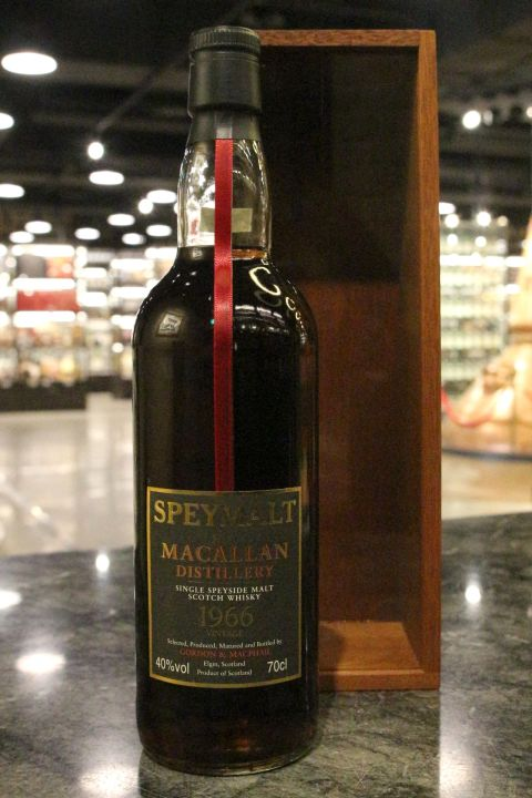 (現貨) G&M - Speymalt - Macallan 1966 Vintage Bottled 2001 麥卡倫 1966 (700ml 40%)