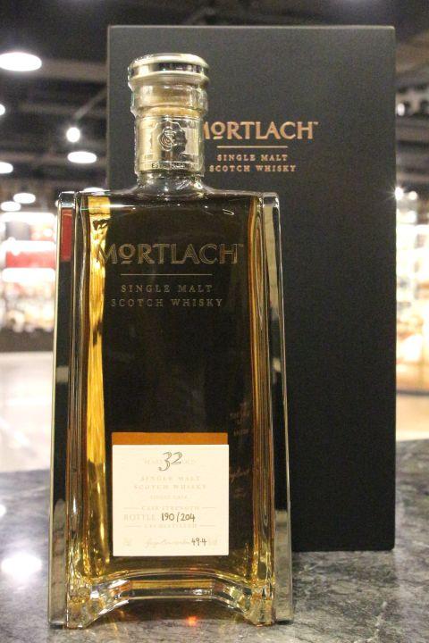Mortlach 32 Years Single Cask Strength 慕赫 32年 極奢 單桶原酒 (750ml 49.4%)