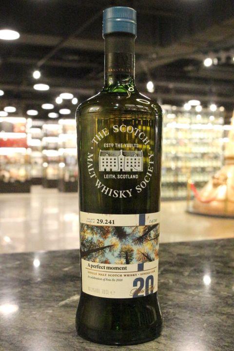 SMWS 29.241 Laphroaig 20 years Feis Ile 2018 拉佛格 單桶原酒 20年 蘇格蘭威士忌協會 (700ml 49.3%)