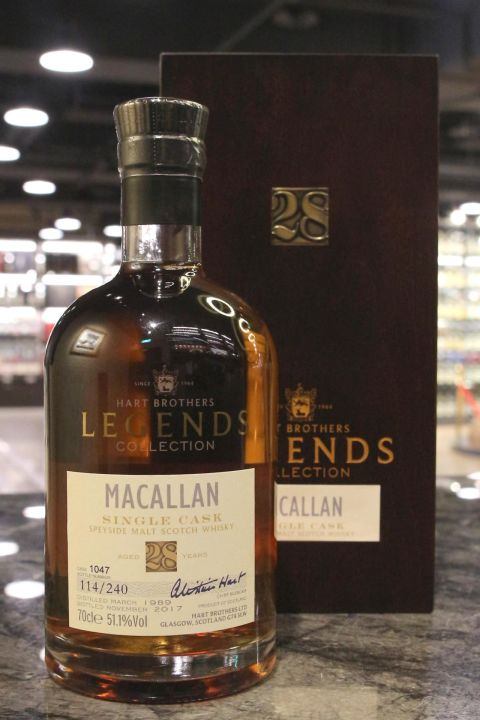 (現貨) Hart Brothers – Macallan 1989 28 years Single Cask 威伯特 麥卡倫 28年 單桶原酒 (700ml 51.1%)