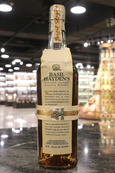 (現貨) Basil Hayden's Kentucky Straight Bourbon 巴素.海頓 美國肯塔基波本威士忌 (750ml 40%)