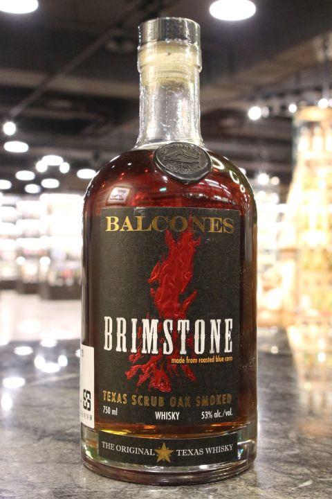 (現貨) Balcones Brimstone Texas Scrub Oak Smoked Whiskey 美國德州波本威士忌 (750ml 53%)