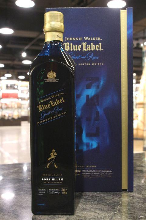 Johnnie Walker Blue Label Ghost & Rare – Port Ellen 約翰走路 藍牌 珍稀系列第二版 (700ml 43.8%)