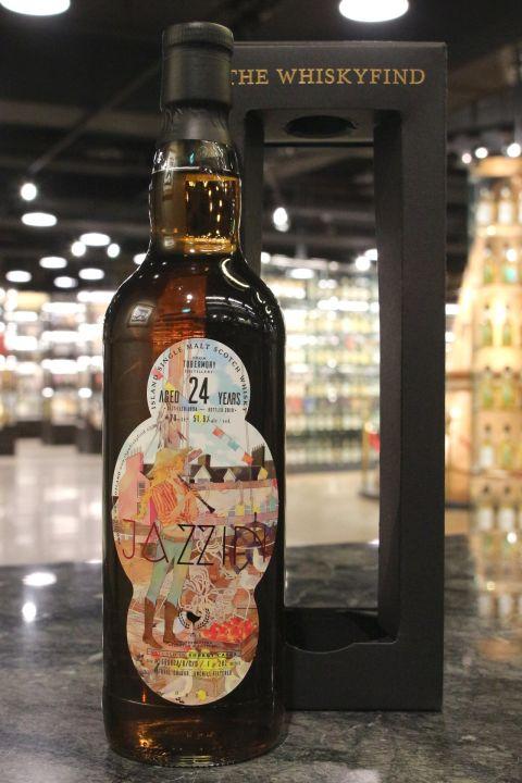 (現貨) The Whiskyfind - JAZZIN- Tobermory 1994 24 Years 威士忌坊 爵士樂 雙簧管 (700ml 51.6%)