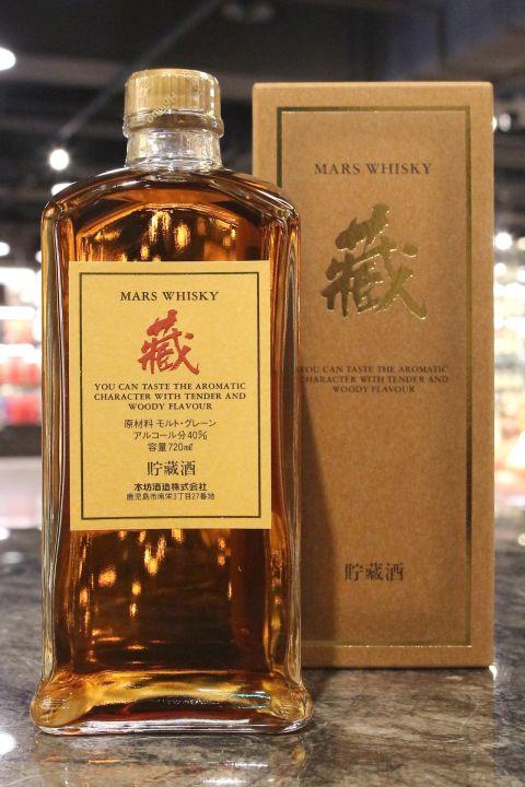 (現貨) Mars Kura Whisky 本坊酒造 藏 調和威士忌 (720ml 40%)