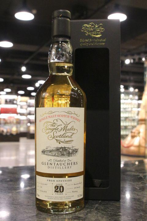 (現貨) SMOS - Glentauchers 1997 20 Years Bourbon Barrel 格蘭道奇 1997 20年 單桶 (700ml 52.8%)