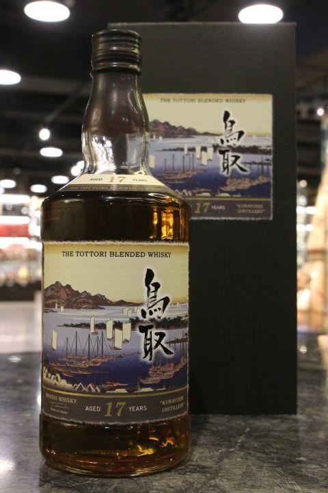 (現貨) The Tottori 17 Years Blended Whisky 鳥取 17年 調和威士忌 (700ml 50%)