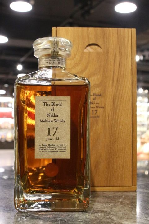 (現貨) Nikka The Blend of Nikka Maltbase 17 Years Whisky (660ml 45%)