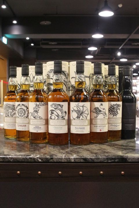 (現貨) Game of Thrones Single Malt Whisky Collection  冰與火之歌 權力遊戲 威士忌限量套組