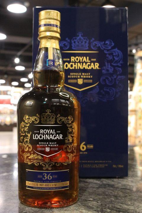 (現貨) Royal Lochnagar 1978 36 Years Single Cask Strength 皇家藍勛 36年 單桶原酒 (700ml 57.6%)