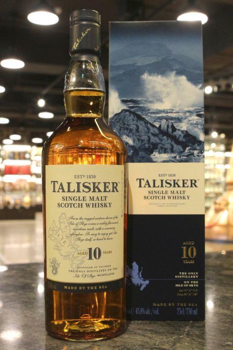 TALISKER 10 Years Single Malt Whisky大力斯可 10年 單一麥芽威士忌 (750ml 45.8%)