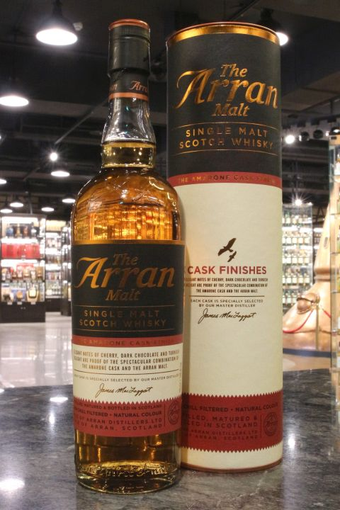 Arran Amarone Cask Finish Single Malt Whisky 愛倫 阿馬龍紅酒桶 (700ml 50%)